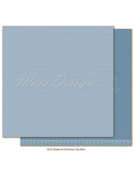 "Maja Design Monochromes Christmas Season Cardstock de doble cara 12""x12"", Skyblue"