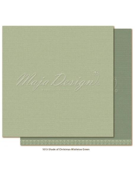 "Maja Design Monochromes Christmas Season Cardstock de doble cara 12""x12"", Mistletoe green"