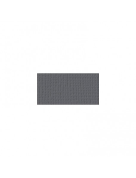 "American Crafts Textured Cardstock 12""X12"", Charcoal"