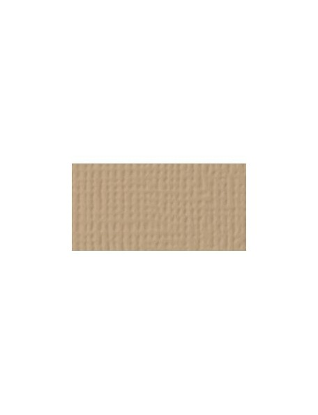 "American Crafts Textured Cardstock 12""x12"", Brown Sugar"