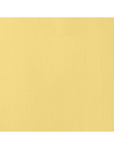 "American Crafts Textured Cardstock 12""X12"" , Banana"