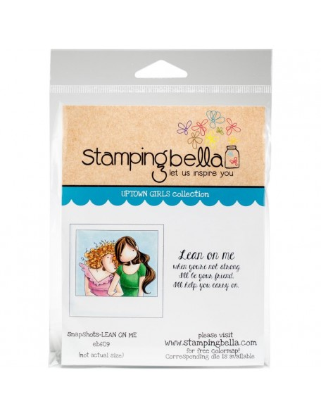Stamping Bella Uptown Girl Snapshots-Lean On Me
