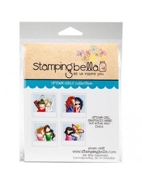 Stamping Bella Cling Stamps, Uptown Girl Snapshots Minis