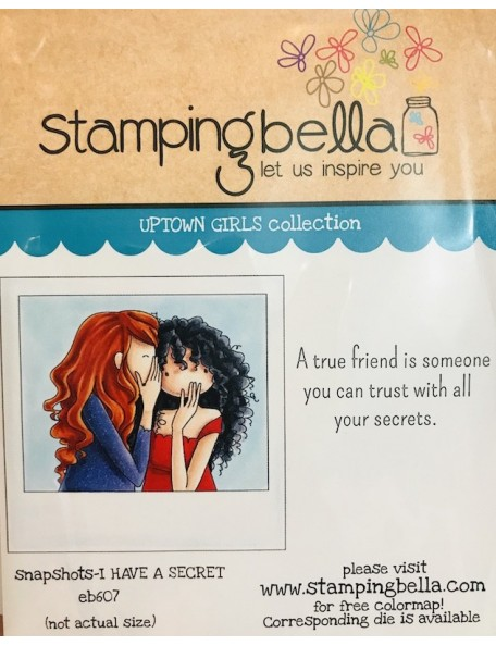 Stamping Bella Cling Stamps Uptown Girl Snapshots I Have A Secret