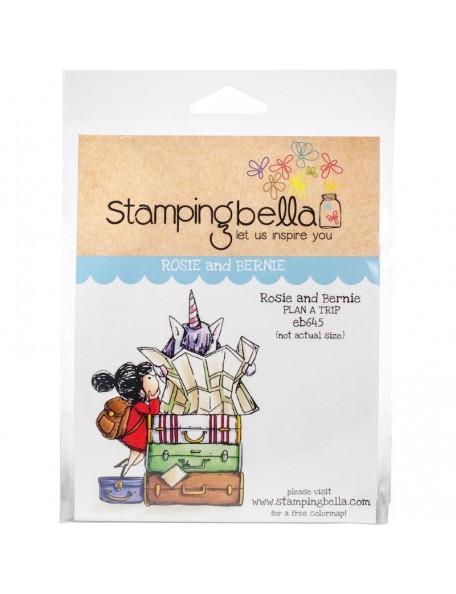 Stamping Bella Cling Stamps Rosie & Bernie Plan A Trip