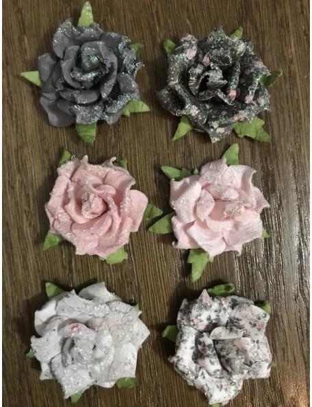 Prima Marketing Rose Quartz Flowers Persian Marblelite