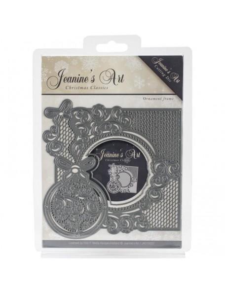 Jeanine's Art Christmas Classics Troquel, Ornament Frame