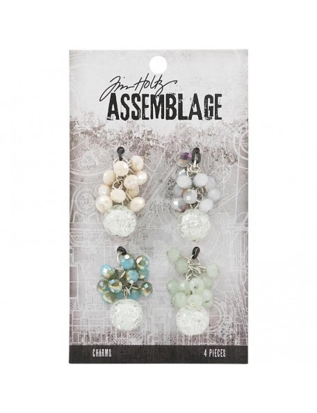 Tim Holtz Assemblage Charms 4, Beaded Clusters