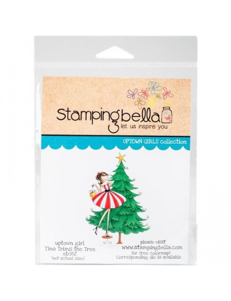Stamping Bella Cling Stamps Tina Trims The Tree