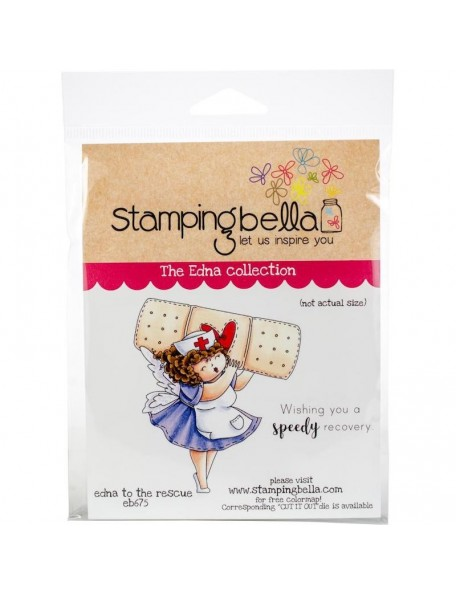 Stamping Bella Cling Stamps Uptown Girl Edna To The Rescue
