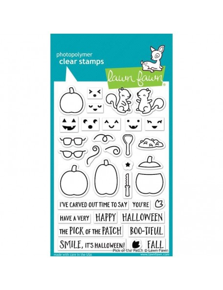 """Lawn Fawn Clear Stamps 4""""X6"""", Pick Of The Patch"""