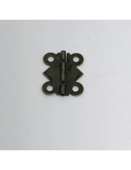 SATWA Bisagras Color Bronze 2 unid., 2,1x2,5cm