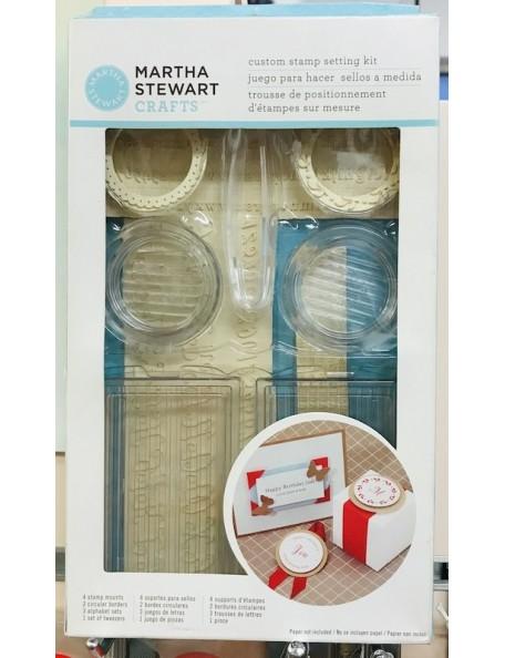 Martha Stewart Custom Stamp Setting Kit