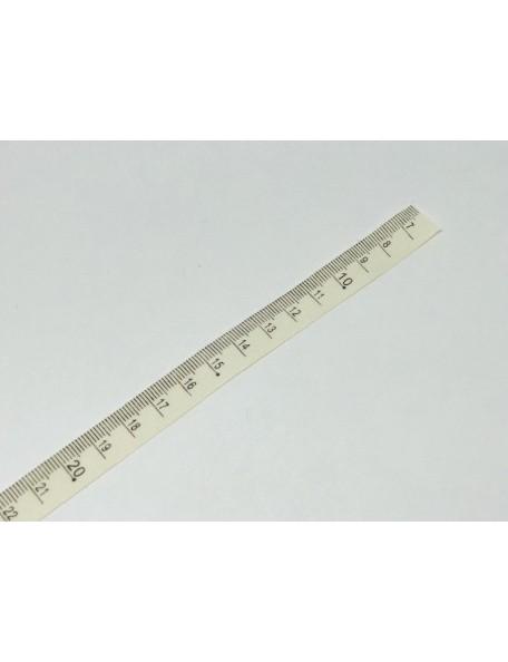 SATWA Cinta estampado Tipo Regla CM 1 unid., 0,50 cm (ancho 1,3 cm)