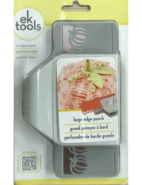 "EK Tools Large Edge Punch Pumpkin Patch, 1.25""X2.5"" DESCTALOGADO!"