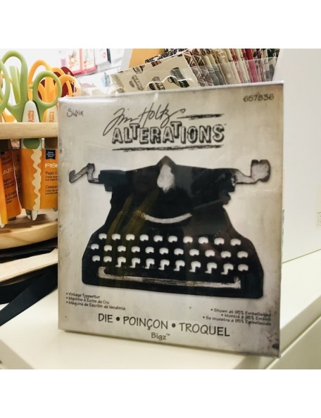 "Sizzix Bigz Die By Tim Holtz 5.5""X6"" Troquel Maquina de escribir"