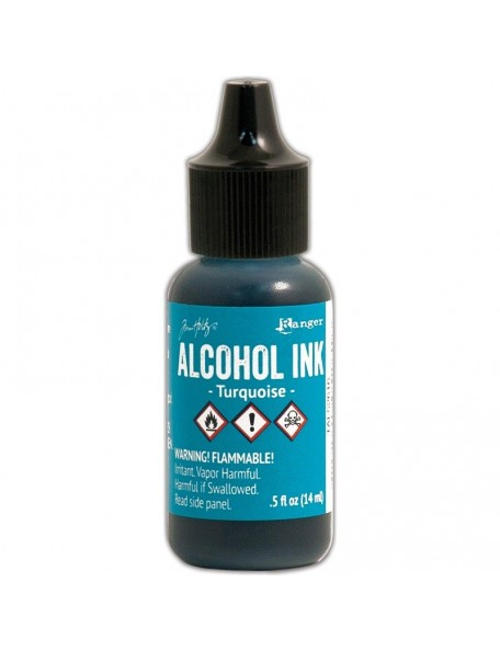 Ranger - Turquoise Alcohol Ink .5oz
