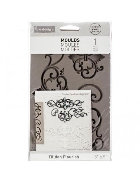 Prima Marketing Re-Design Decor Mould-Tillden Flourish