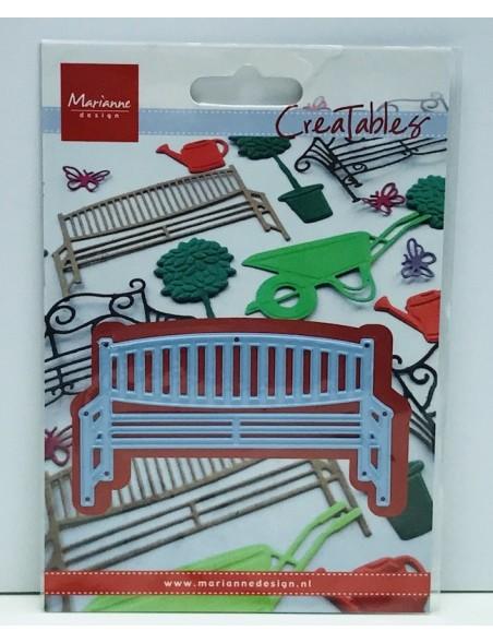 """Marianne Design Troquel Banco de madera para jardín, 3.5""""X2"""" DESCATALOGADO"""