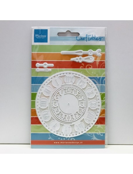 "Marianne Design Craftables Troquel sfera de reloj, 2"" & 3.75"""