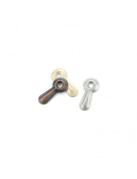 Creative Impressions Soportes de metal 50 unid. en 3 colores, oro plata y cobre