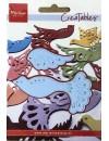 """Marianne Design Creatables Troquel Fantasía pájaro, 3.5""""X2"""" DESCATALOGADO"""