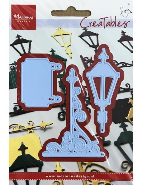 "Marianne Design Creatables Troquel Linterna y Cartel, hasta 2""X3"""