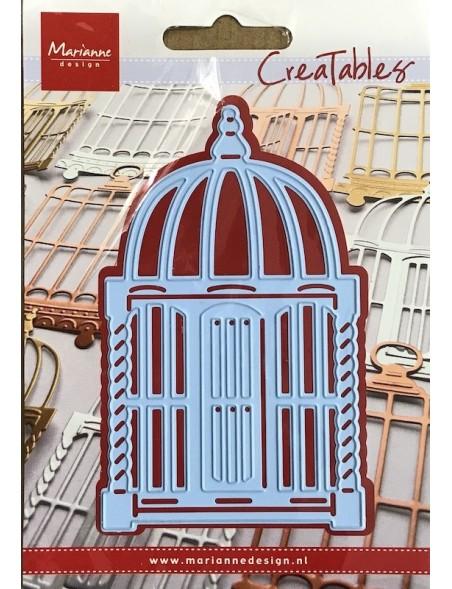 "Marianne Design Creatables Troquel Jaula de pájaros Morocco, 4.5""X2.75"" DESCATALOGADO"
