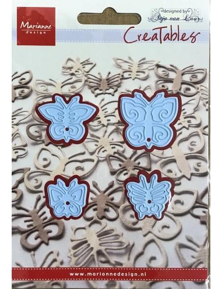 "Marianne Design Creatables Troquel Mariposas/Butterflies, 1.18""X1.18"""