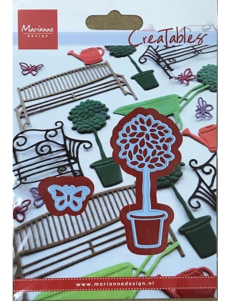 """Marianne Design Creatables Troquel Poda artística y Mariposa, 3""""X1.5"""" & 1""""X.5"""" DESCATALOGADO"""