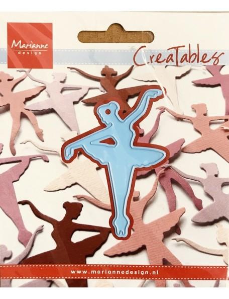 "Marianne Design Creatables Troquel Ballerina, 2""X3"""