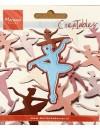 """Marianne Design Creatables Troquel Ballerina, 2""""X3"""", DESCATALOGADO"""