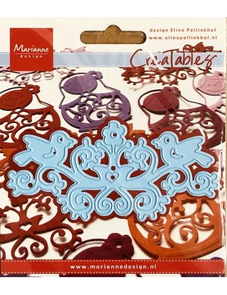 "Marianne Design Creatables Troquel Folklore 4""x2"" DESCATALOGADO"