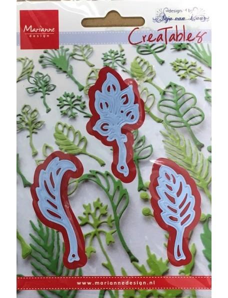 """Marianne Design Creatables Troquel Hojas de Anja's, hasta 0.875""""X2.25"""" DESCATALOGADO"""