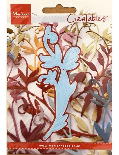 """Marianne Design Creatables Troquel Rama de bosque, 3.5""""X2"""" DESCATALOGADO"""