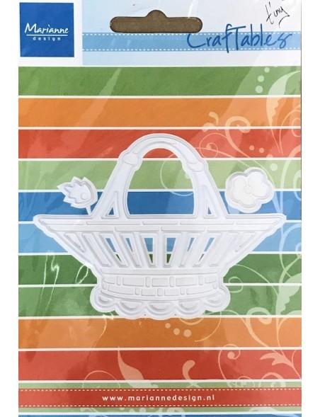 Marianne Design Creatables Troquel Cesta de Flores DESCATALOGADO