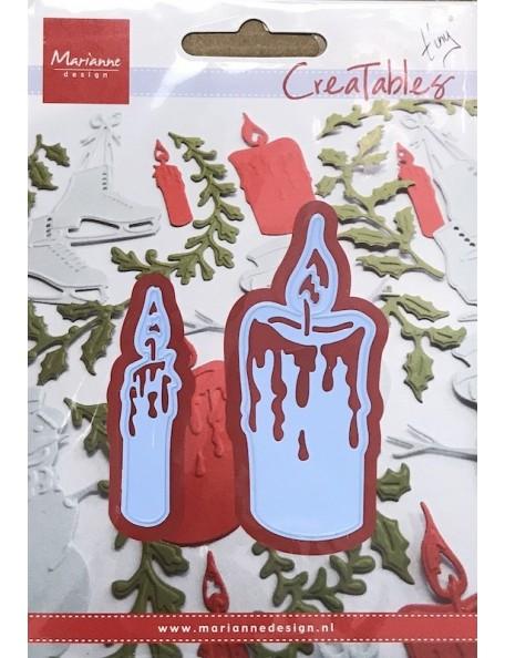 "Marianne Design Creatables Troquel Velas, 2"" & 3"" DESCATALOGADO"