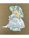 "Humphrey's Corner Sello/Rubber Stamp Set 3.75""X4"", Birthday Girl"