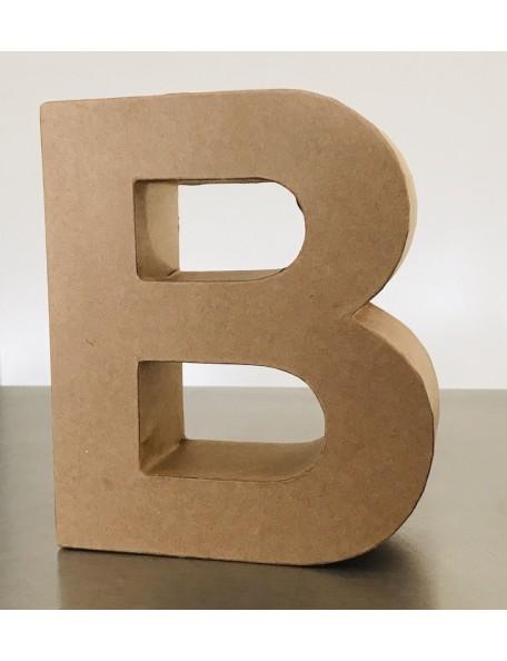 "satwa letra ""b"" color kraft 14,5x17,5x5,5cm"