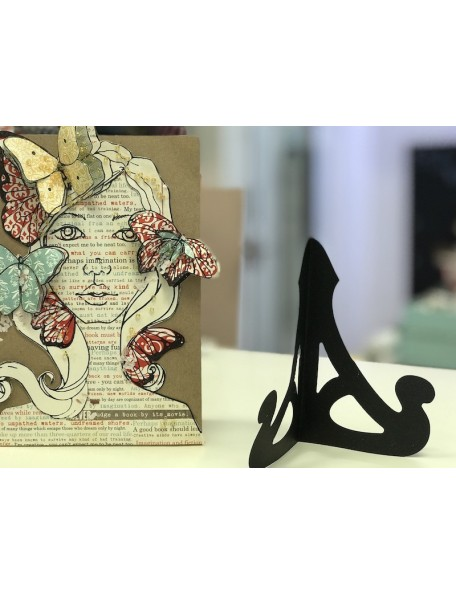 """Elizabeth Craft Troquel Soporte para Tarjetas/Caballete, 4.75""""X6"""""""