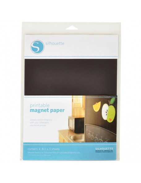 """Silhouette Printable Magnet Paper 8.5""""X11"""""""