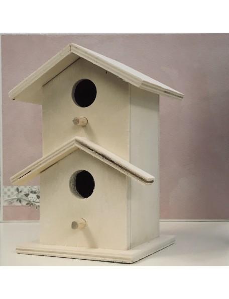 "Multi Craft Imports Wood Craft 6"" Birdhouses"