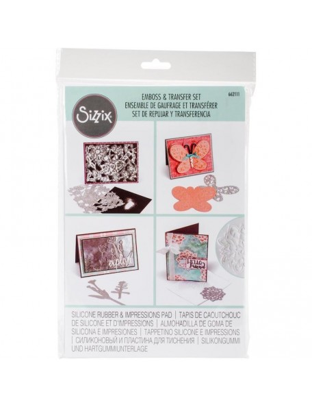 Sizzix Big Shot accesorio Emboss y Transfer Set