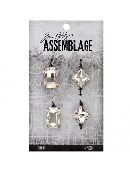 Tim Holtz decoraciones 4, gemas/Faceted Gems