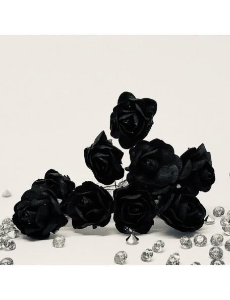 Magnolia Flores made with love, negro/black, 10 pzas