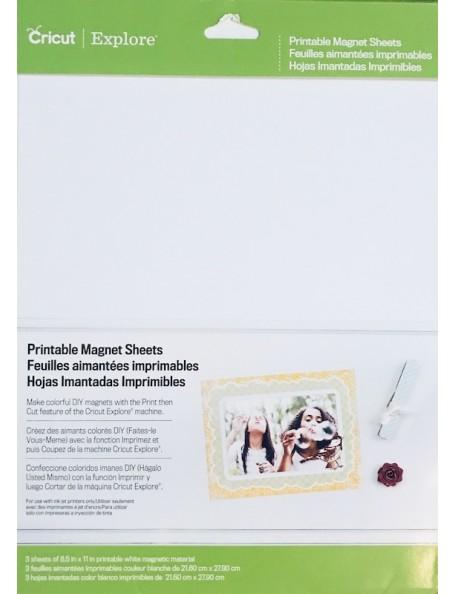 """Cricut Hoja de imán imprimible/Printable Magnet Sheet 8.5""""X11"""" 3"""