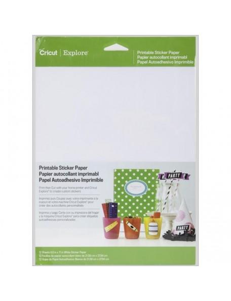 Cricut papel autoadhesivo imprimible/Sticker Paper