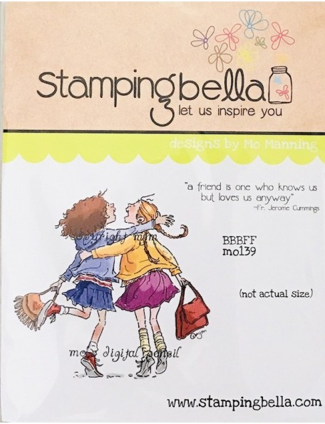 "Stamping Bella - Stamping Bella Cling Stamp 6.5""X4.5""-BBBFF -Descatalogado-"