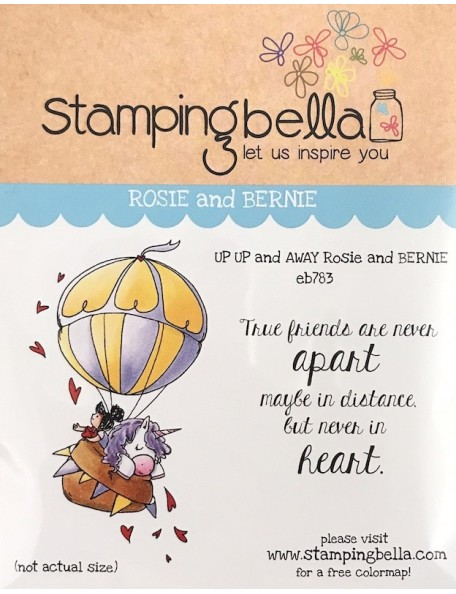 Stamping Bella sello se van rosie y bernie/Up Up & Away Rosie & Bernie