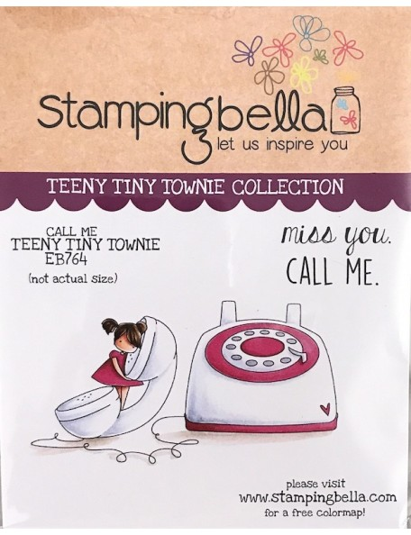 Stamping Bella sello llamame teeny tiny/Call Me Teeny Tiny